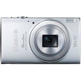 Canon PowerShot 340 HS 16 Megapixel Compact Camera - 4.50 mm - 54 mm - Silver 9347B001