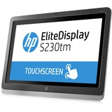 "HP Elite S230tm 23"" LED LCD Touchscreen Monitor - 16:9 - 7 ms E4S03AA#ABA"