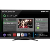"Sharp AQUOS LC-80UQ17U 80"" 3D 1080p LED-LCD TV - 16:9 - HDTV 1080p - 240 Hz LC80UQ17U"