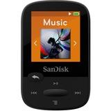 SanDisk Clip Sport SDMX24-004G 4 GB Flash MP3 Player - Black SDMX24-004G-A46K