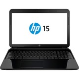 "HP 15-g000 15-g020ca 15.6"" LED (BrightView) Notebook - AMD - E-Series E2-3800 1.3GHz - Black Licorice F9J06UA#ABL"