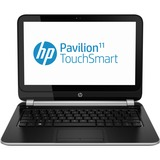 "HP Pavilion TouchSmart 11-e100 11-e140ca 11.6"" Touchscreen LED Notebook - AMD A-Series A4-1250 1 GHz - Midnight Black, Anodized Silver E8C45UA#ABL"