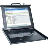 "Tripp Lite Rackmount Console - 1U Rackmount Console with 17"" LCD 0SU52088"