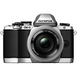 Olympus OM-D E-M10 16.1 Megapixel Mirrorless Camera with Lens (Body with Lens Kit) - 14 mm - 42 mm - Silver V207021SU000