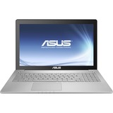 "Asus N550JK-DS71T 15.6"" Touchscreen LED (In-plane Switching (IPS) Technology) Notebook - Intel Core i7 i7-4700HQ 2.40 GHz - Dark Gray N550JK-DS71T"
