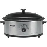 Nesco 6 Qt. S/Steel Roaster, Nescote Non-Stick Cookwell