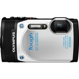 Olympus Tough TG-850 16 Megapixel Compact Camera - 3.7 mm - 18.7 mm - Silver V104150SU000