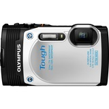 Olympus Tough TG-850 16 Megapixel Compact Camera - 3.7 mm - 18.7 mm - White V104150WU000