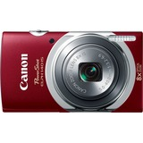 Canon PowerShot 140 IS 16 Megapixel Compact Camera - Red 9147B001