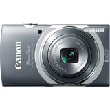 Canon PowerShot 140 IS 16 Megapixel Compact Camera - Gray 9144B001