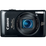 Canon PowerShot 150 IS 20 Megapixel Compact Camera - Black 9356B001