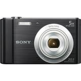Sony DSC-W800 20.1 Megapixel Compact Camera - Black DSCW800B
