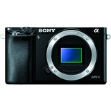Sony alpha a6000 24.3 Megapixel Mirrorless Camera (Body Only) - Black ILCE6000B