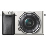 Sony Alpha a6000 24.3 Megapixel Mirrorless Camera with Lens (Body with Lens Kit) - 16 mm - 50 mm - Silver ILCE6000LS