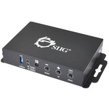SIIG HDMI to VGA & Audio Converter Scaler CE-H21X11-S1