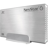 Vantec NexStar 6G NST-366S3-SV Drive Enclosure - External - Silver NST-366S3-SV