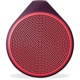 Logitech X100 Speaker System - Wireless Speaker(s) - Red 984-000363