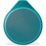 Logitech X100 Speaker System - Wireless Speaker(s) - Green 984-000373