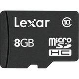 Lexar 8 GB microSD High Capacity (microSDHC) LSDMI8GBABNLC10
