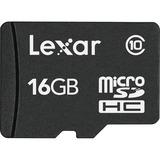 Lexar 16 GB microSD High Capacity (microSDHC) LSDMI16GABNLC10