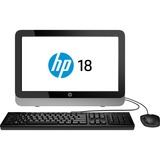 HP 18-5000 18-5009 All-in-One Computer - AMD E-Series E1-2500 1.40 GHz - Desktop F3E62AA#ABL