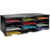 Storex 12-Compartment Litreature Organizers 61602B01R
