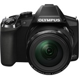 Olympus Stylus SP-100 16 Megapixel Bridge Camera - Black