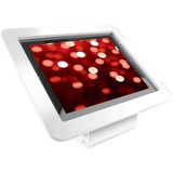 iPad 2/3/4/Air/Air2 Secure Executive Enclosure with 45° Kiosk White