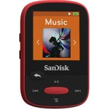 SanDisk Clip Sport SDMX24-004G 4 GB Flash MP3 Player - Red SDMX24-004G-G46R