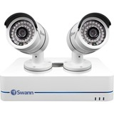 Swann NVR4-7085 4 Channel 720p Network Video Recorder & 2 x NHD-806 Cameras SWNVK-470852-US