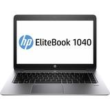 "HP EliteBook Folio 1040 G1 14"" Touchscreen Ultrabook - Intel Core i5 i5-4300U 1.90 GHz G4U67UT#ABA"