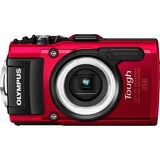 Olympus Stylus Tough TG-3 16 Megapixel Compact Camera - Red V104140RU000