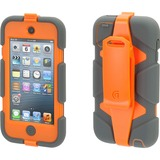 Griffin Survivor Carrying Case for iPod - Gray, Orange
