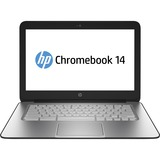 "HP Chromebook 14 G1 14"" LED (BrightView) Notebook - Intel Celeron 2955U 1.40 GHz - Black"