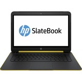 "HP SlateBook 14-p000 14-p010nr 14"" Touchscreen LED Notebook - NVIDIA Tegra 4 - Space Silver Aluminum, Sweet Yellow G9Z33UA#ABA"
