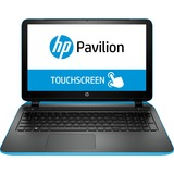 "HP Pavilion 15-p000 15-p020ca 15.6"" Touchscreen LED Notebook - AMD A-Series A4-6210 1.80 GHz - Aqua Blue, Ash Silver G6R22UA#ABL"