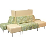 HPT5813M493M289 - HPFI 5813 Sofa with Arms and Back Panel