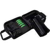 CTA Digital Carrying Case for Gaming Console, Game Cartridge, Accessories, Gaming Controller, Cable