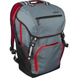 "Altego Polygon Carrying Case (Backpack) for 17"" MacBook, Notebook - Scarlet, Gray"