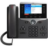 Cisco 8861 IP Phone - Cable - Wall Mountable, Desktop - Black CP-8861-K9=