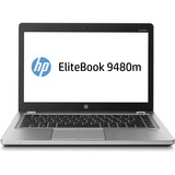 "HP EliteBook Folio 9480m 14"" LED Ultrabook - Intel Core i5 i5-4310U 2 GHz - Platinum J5P78UT#ABA"