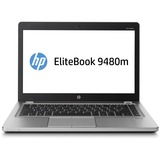 "HP EliteBook Folio 9480m 14"" LED Ultrabook - Intel Core i7 i7-4600U 2.10 GHz - Platinum J5P80UT#ABA"