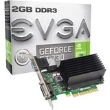 EVGA GeForce GT 730 Graphic Card - 902 MHz Core - 2 GB DDR3 SDRAM - PCI Express 2.0 02G-P3-1733-KR