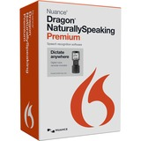 Nuance Dragon NaturallySpeaking v.13.0 Premium Mobile Edition With Voice Recorder - 1 User K609A-GC3-13.0