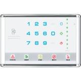 Interlogix NetworX Advanced Touch LED Keypad, Landscape, White NX-1813E
