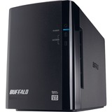 Buffalo DriveStation Pro HD-WH8TU3/R1 DAS Array - 2 x HDD Supported - 2 x HDD Installed - 8 TB Installed HDD Capacity HD-WH8TU3R1