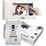 Aiphone JM Series: Handset Video Intercom with 7-Inch Touchscreen JMS-4AEDF