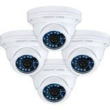 Night Owl CAM-4PK-DM924 1 Megapixel Surveillance Camera - 4 Pack - Color