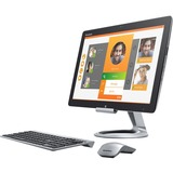 Lenovo HORIZON 2s F0AT0003US All-in-One Computer - Intel Core i5 i5-4210U 1.70 GHz - Tabletop - Black, Silver F0AT0003US