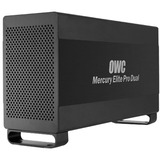 OWC Mercury Elite Pro Dual DAS Array - 2 x HDD Supported - 2 x HDD Installed - 4 TB Installed HDD Capacity OWCMETB7DH4.0T